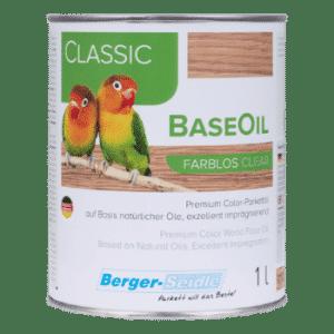 שמן אקולוגי קלאסי לפרקט Classic BaseOil במבחר גוונים רחב במיוחד
