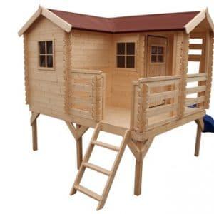 בית עץ לילדים Garden Top דגם M508 TIMBELA&KO
