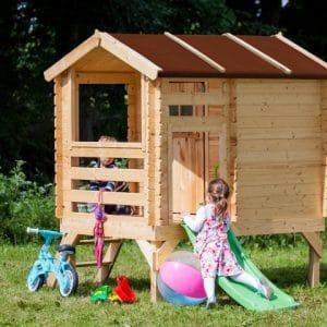 בית עץ לילדים Garden Top דגם M501C TIMBELA&KO