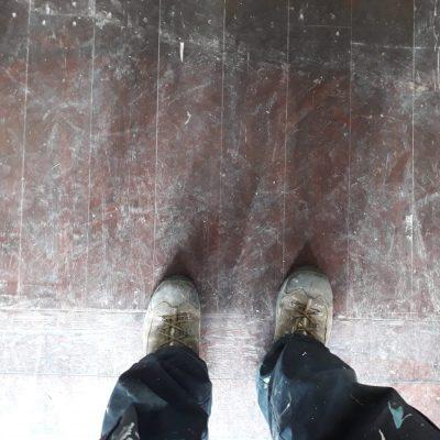 חידוש פרקט - מצב הרצפה לפני חידוש
