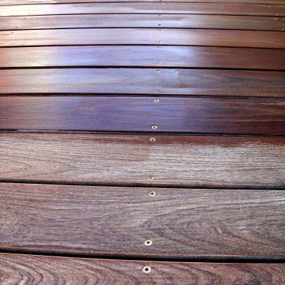 צביעת דקים - גמר שמן לעץ קשה