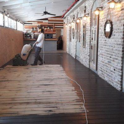 ליטוש דקים - יישור הרצפה באמצעות ליטוש מאסיבי