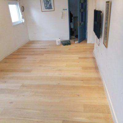 חידוש פרקט - הרצפה אחרי ליטוש ולפני גמר